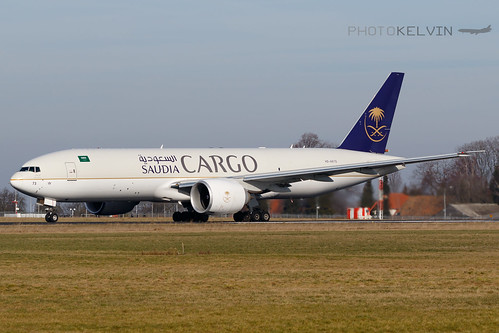 Boeing 777(F) - Saudia Airlines Cargo - HZ-AK73 | by Kelvin Jahae