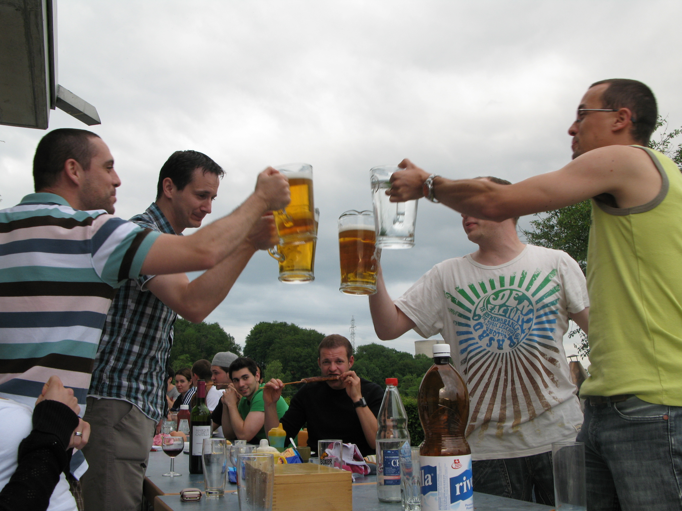 Abschlussfest 1. Mannschaft 2010