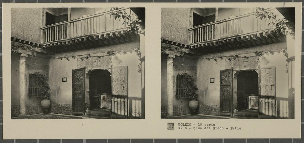 Museo del Greco. Colección de fotografía estereoscópica Rellev © Ajuntament de Girona / Col·lecció Museu del Cinema - Tomàs Mallol