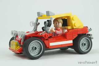Bud Spencer & Terence Hill with Puma dune buggy | by skallesplitter