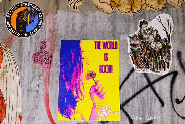 Roma. Ostiense. Street art by Alessia Babrow, Lus57, Streetartee, me