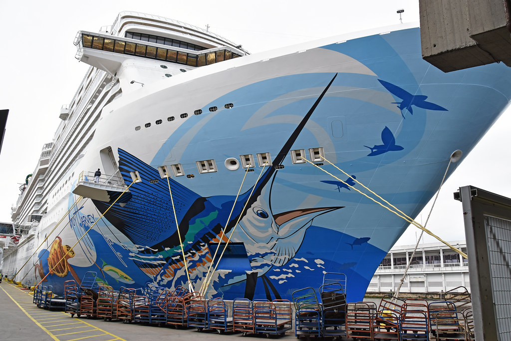 Picture Of The Cruise Ship Norwegian Escape Taken At Pier … | Flickr