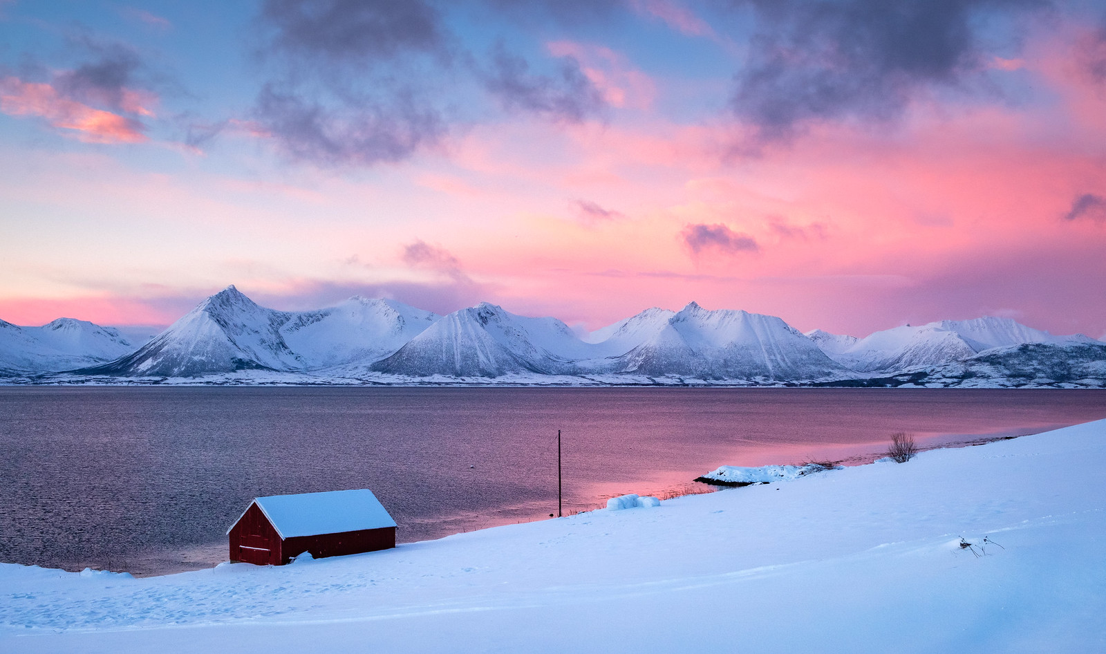 January light in Troms