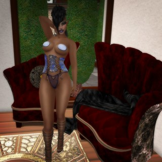 RYL Hot Winter Corset & Winter Pasties @ Spotlight | by melyna.foxclaw