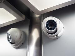Камера наблюдения в лифте