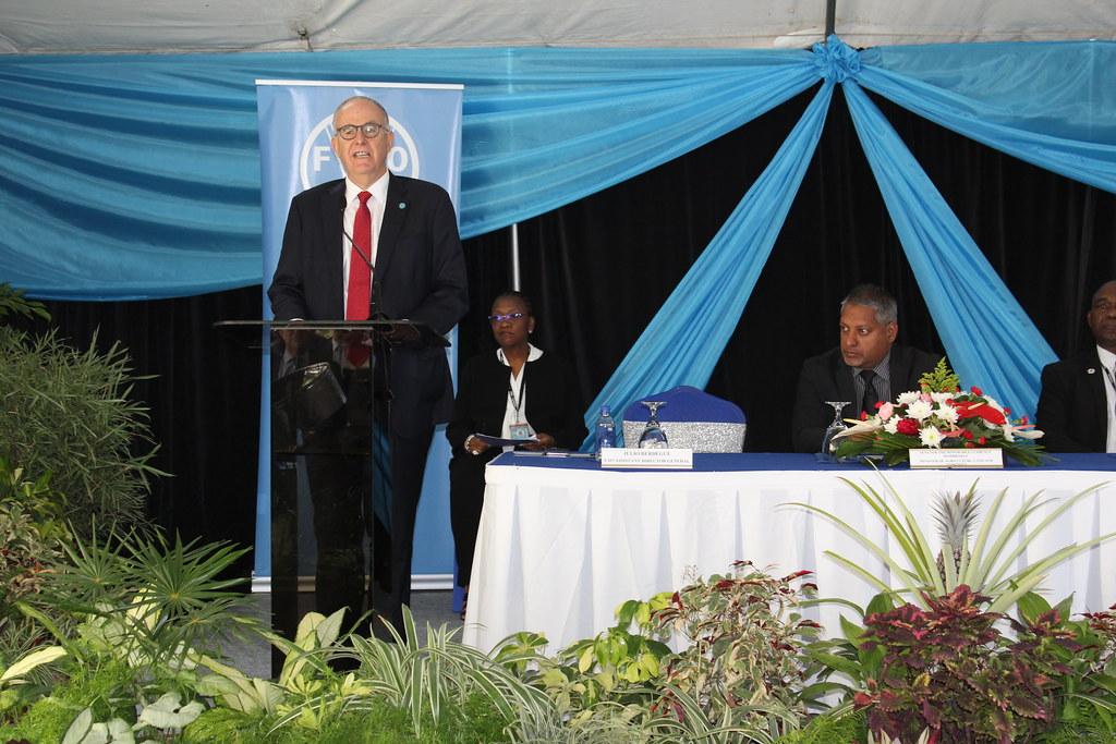 Misión oficial Director FAO Américas en países del Caribe