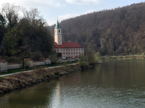 33 - Abfahrt vom Kloster Weltenburg