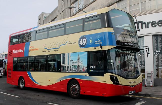 Brighton & Hove: 855 SK67FLZ Wright StreetDeck