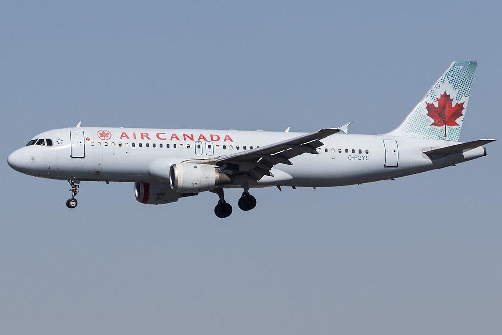 Air Canada A320 C-FGYS