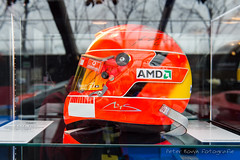 Michael Schumacher Ferrari Formula 1 Helmet - 2005