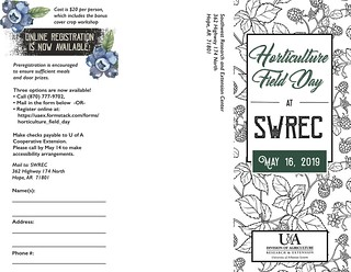 2019 horticulture field day brochure | by uacescomm