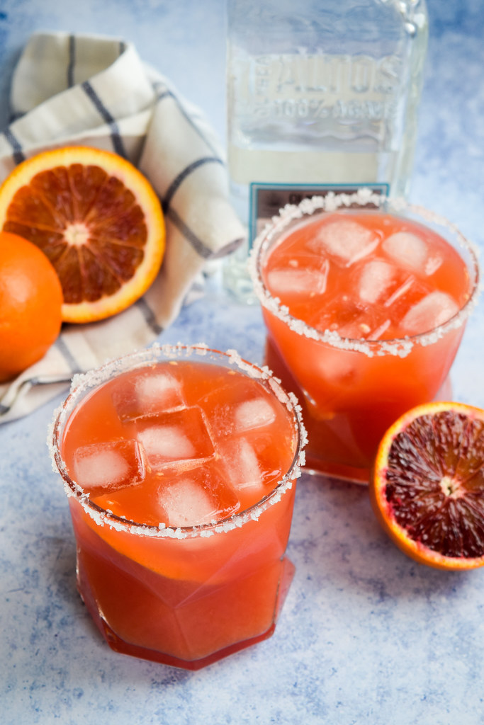 How To Make Blood Orange Margaritas
