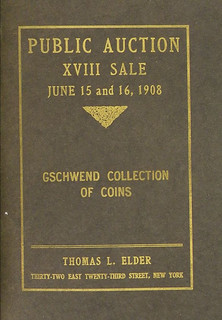 Tom Elder's 1908 Gschwend catalogue