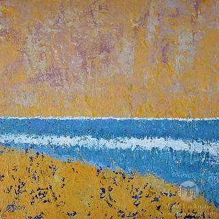Burkes Beach (original painting) | by CrowRising