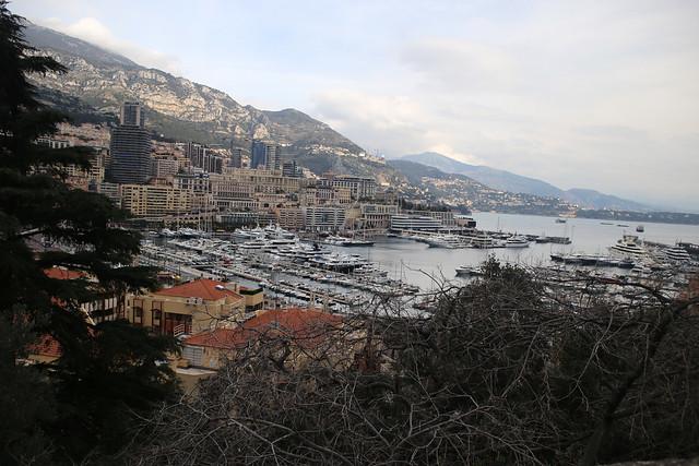 Monaco Marina from Monaco Ville