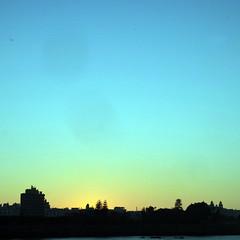 Cadiz, sunset