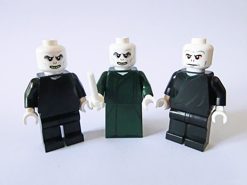 Lord Voldemort (alternate faces and outfits)   by Ptéra