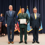 Vi, 03/29/2019 - 14:36 - On Friday, March 29, 2019, the William J. Perry Center for Hemispheric Defense Studies hosted a graduation ceremony for two courses: 'Strategic Implications of Human Rights and Rule of Law' and 'Combating Transnational Threat Networks.' Students from all over the Americas attended the courses from March 18-29, 2019. The graduation ceremony and reception took place in Lincoln Hall at the National Defense University's North Campus at Fort McNair in Washington, DC.