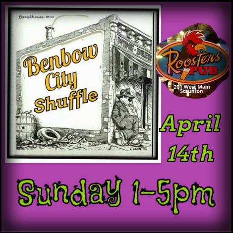 Benbow City Shuffle 4-14-19