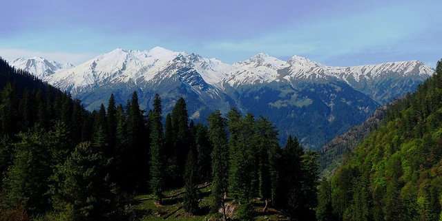 The Himalayan Glaciers Mountains - Western Himalayas