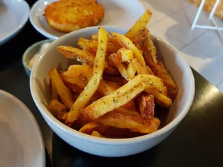 Triple Cooked Chips with Aioli at Grown