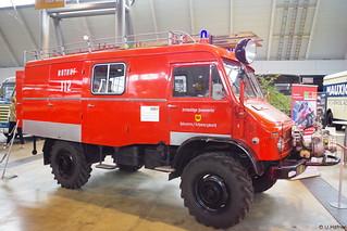 1966 Unimog 404.1 - LF 8 TS Metz - FW Häusern Schwarzwald _a