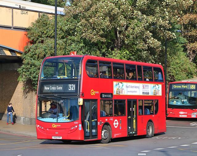 Go Ahead London Central - E257 - YX12FPP
