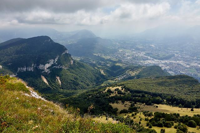 Mont Peney (1356 m) et vallée de Chambéry