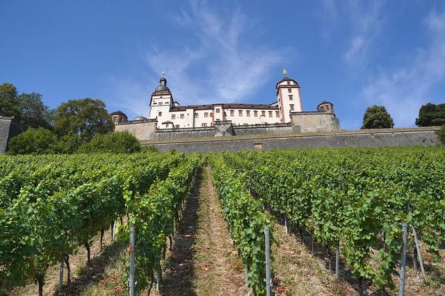 Würzburg: Festung Marienberg