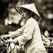 Street peddler in Hanoi