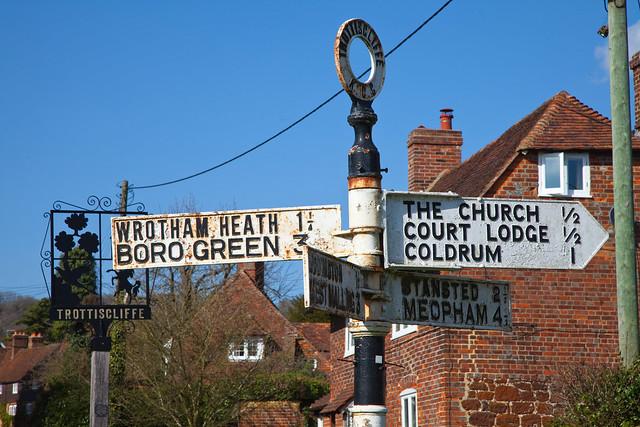 Trottiscliffe Village Kent..
