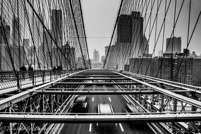 Brooklyn Bridge Traffic, NYC