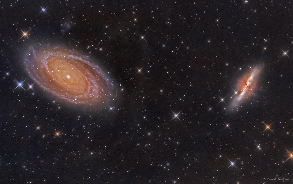 M81 - Galassia Di Bode E Sigaro