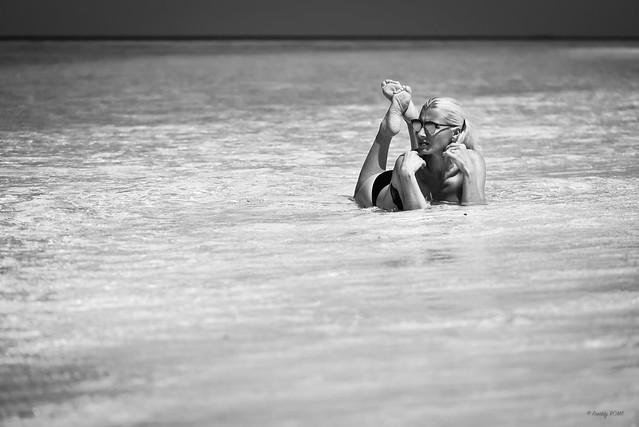 Pin Up Caroline - Maldives and soles