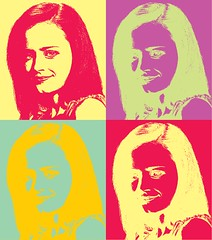 Alexis Bledel Pop Art
