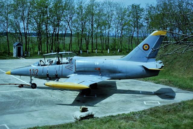 L-39ZA Albatros 132 c/n 332632 Flying Training School/ Romanian Air Force/ FAR. Boboc, Romania, 4 May 1999.