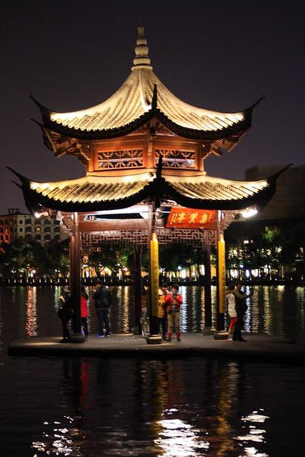 Jixian Pavilion / Павилион на Западното езеро