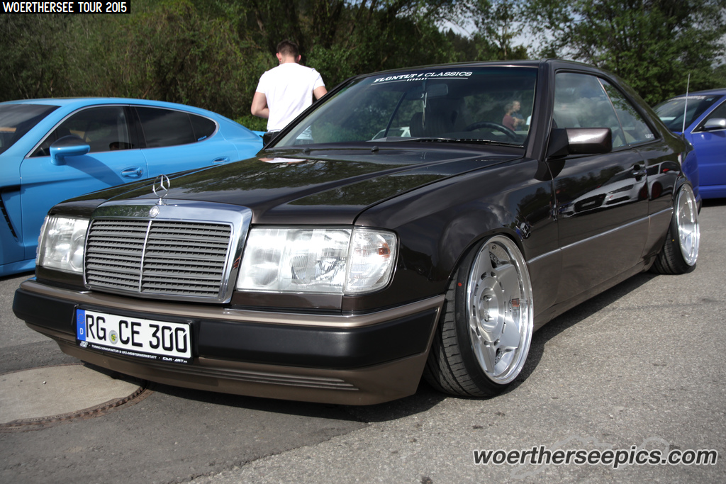Mercedes Benz W124 Ce Coupe On Messer Wheels Woerthersee T Flickr
