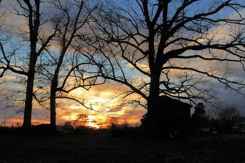 canon greensboro northcarolina sunrise outdoors nature clouds blaze