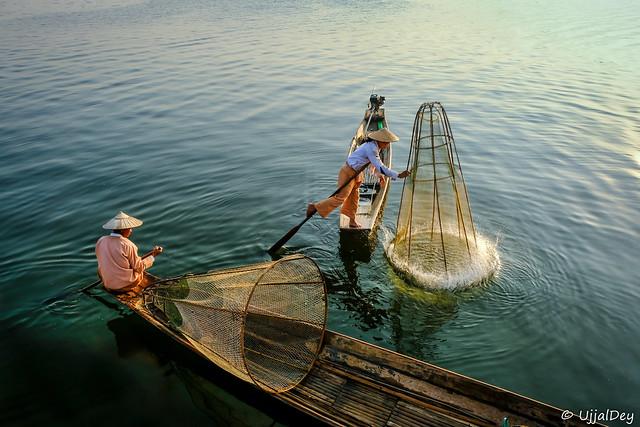 Fishing at Inle
