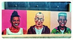 Just chill and be Heroes.. 😉 #painting #art #artwork #kunst #artlove #artlover #barackobama #dalailama #nelsonmandela #heroes #lovephotography #photography #photographer #fotografie #fotograaf