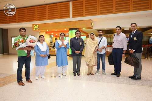 Arrival of Satguru Mata Ji at Sydney Airport