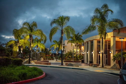 Palomar College - Theater Department on a Cloudy Night