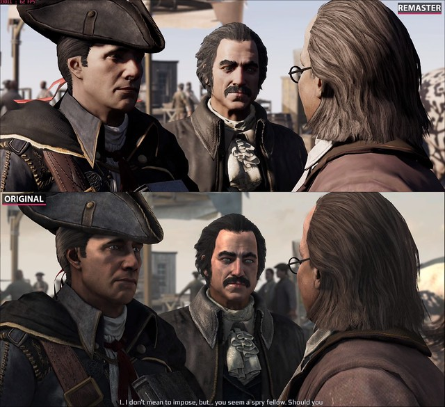 Remaster 3 di Assassin's Creed - Degradamento dei caratteri