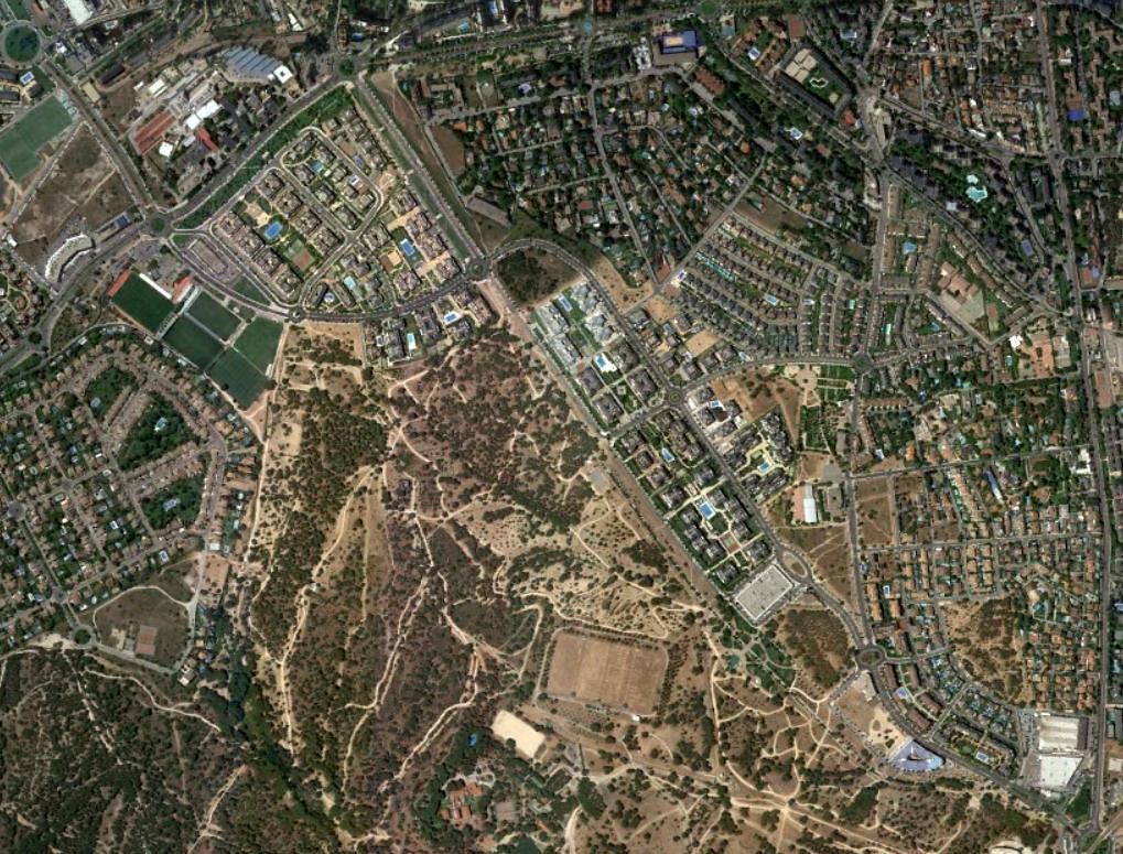 monte del pilar, majadahonda, madrid, donde tito, después, urbanismo, planeamiento, urbano, desastre, urbanístico, construcción, rotondas, carretera