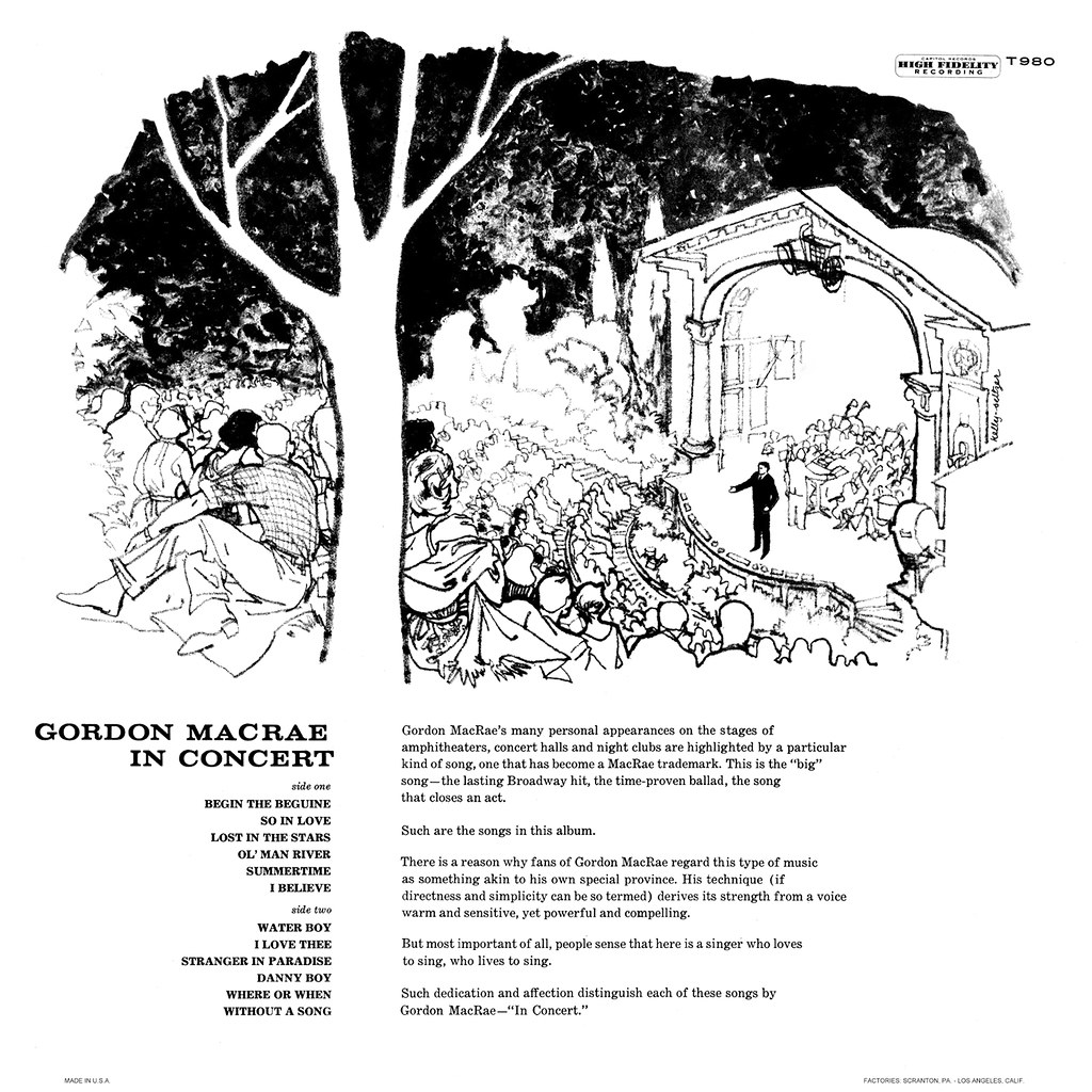 Gordon MacRae – In Concert