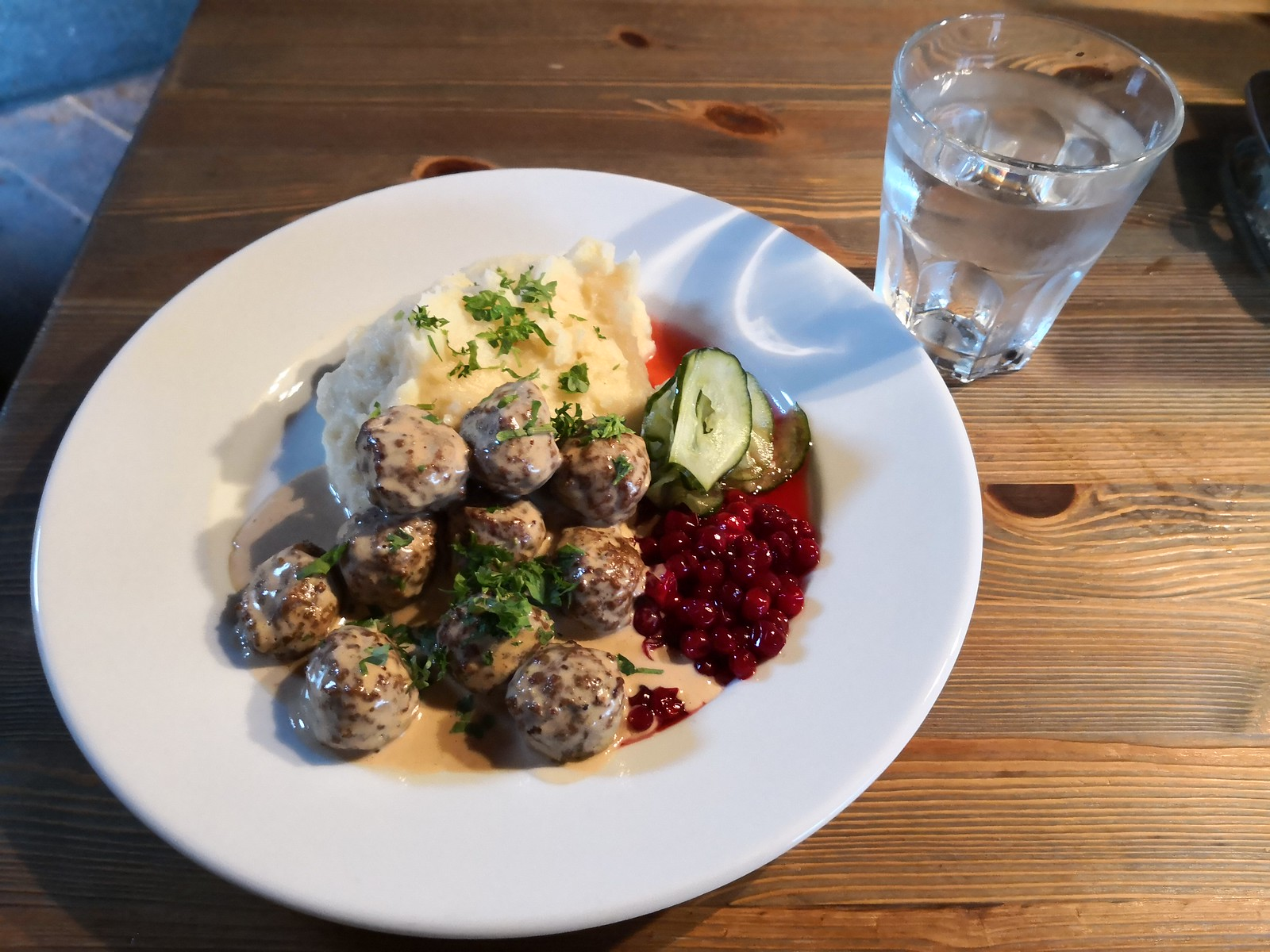 Meatballs for lunch