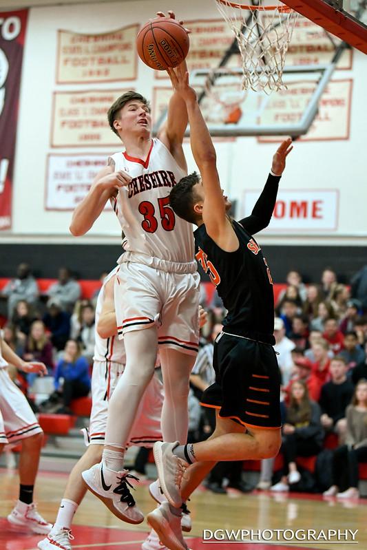 Shelton High vs. Cheshire - High School Basketball