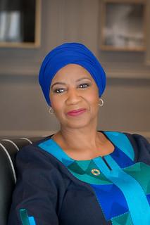 UN Women Executive Director Phumzile Mlambo-Ngcuka Official Portrait | by UN Women Gallery