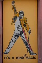 Camara de Lobos Citty Graffity Fredy Mercury